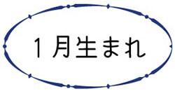 恒星占星術|365日誕生日占い.net[無料占い]1月生まれ