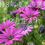 2018年後半の運勢10月生まれ 恒星占星術|365日誕生日占い.net[無料占い