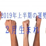 2019年上半期の運勢 2月恒星占星術|365日誕生日占い.net[無料占い]